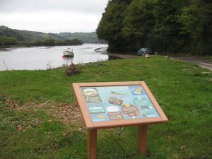 AONB board on foreshore