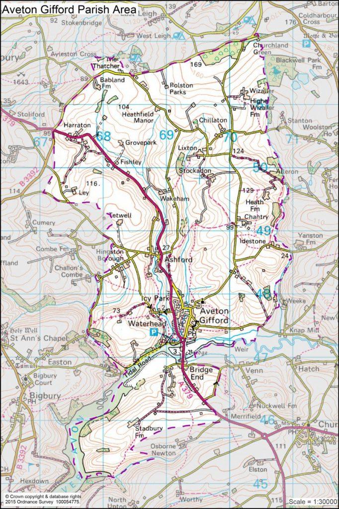 Aveton-Gifford-Proposed-Neighbourhood-Plan-Area