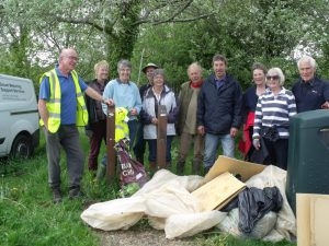 Tidal Road clean up May 2015