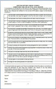 Pool rules 2015