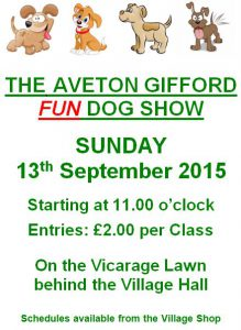 dog show poster 2015