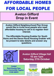 drop in housing poster